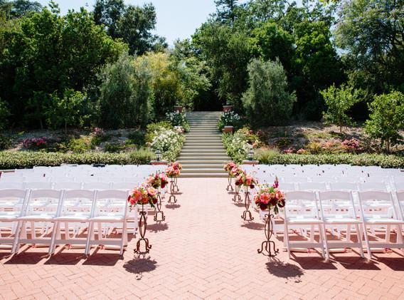 Wedding Ceremony at Quail Ranch