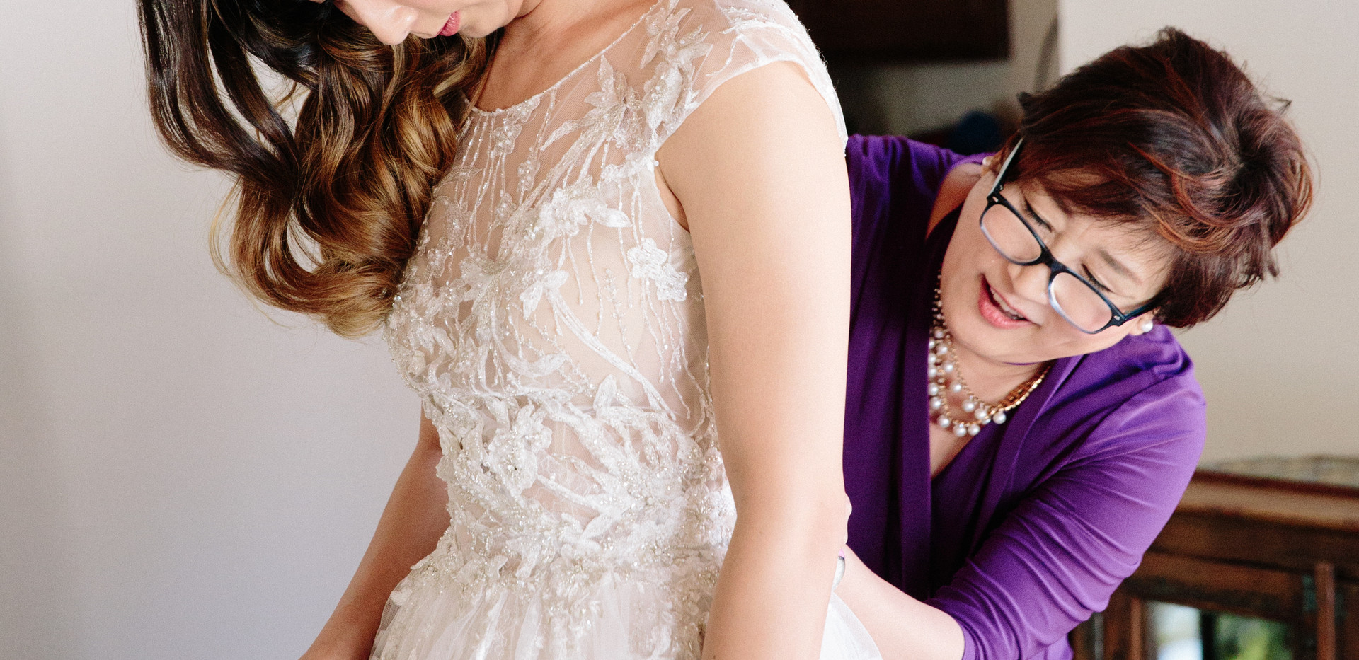 Lace Wedding Dress at Quail Ranch