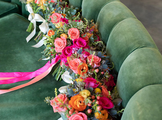Bright and Fun Wedding Bouquets