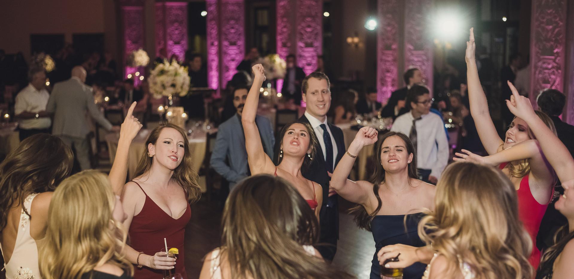 Historic Hollywood Wedding Reception