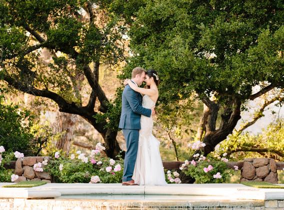 Scenic Rustic Southern California Wedding