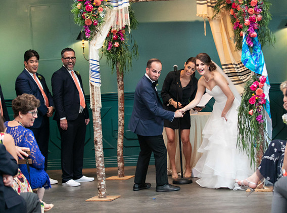 Fun Jewish Wedding Ceremony