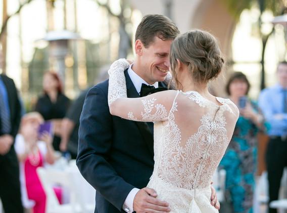 Santa Barbara Wedding First Dance