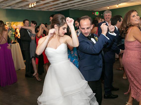 Fun Wedding Reception in Not Your Average Ballroom