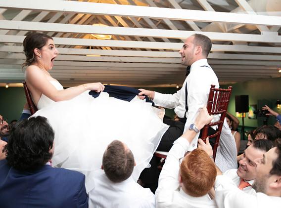 Bride and Groom Wedding Hora