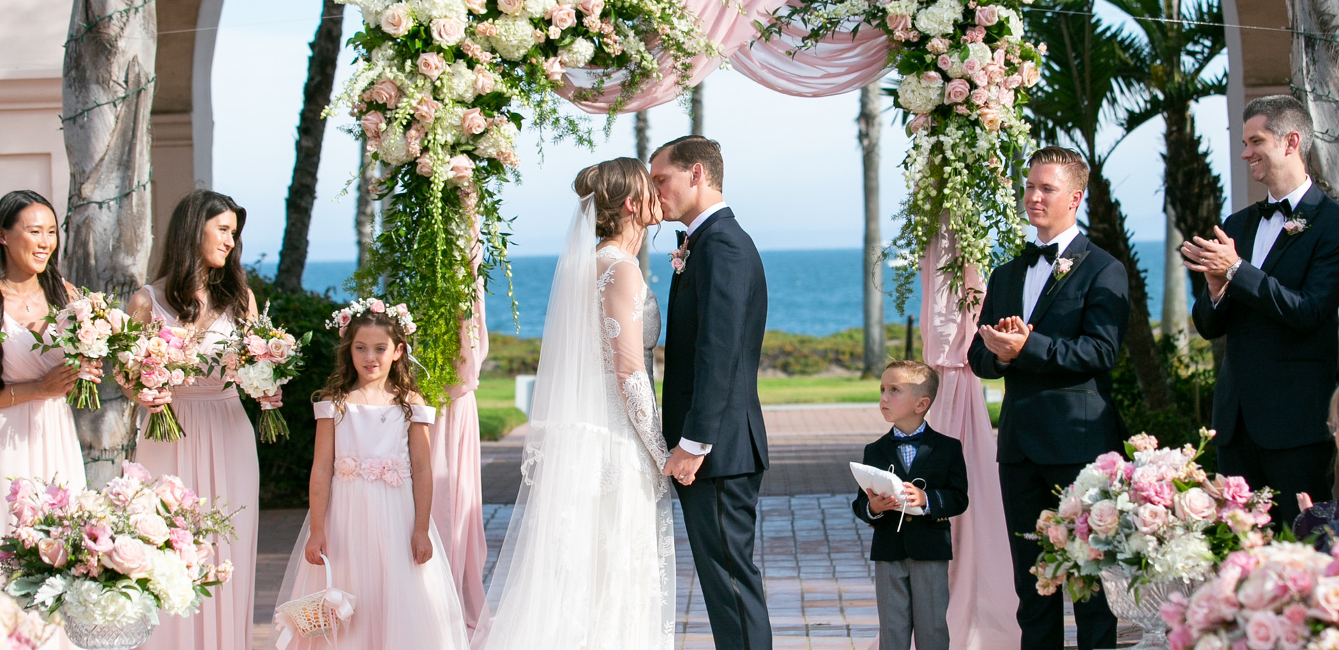 Santa Barbara Ocean View Wedding