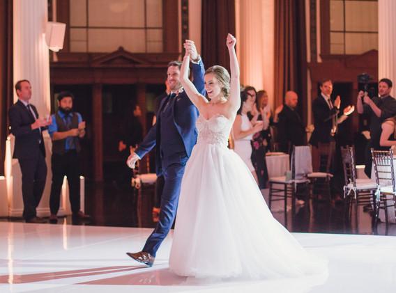 DTLA Bride and Groom Grand Entrance