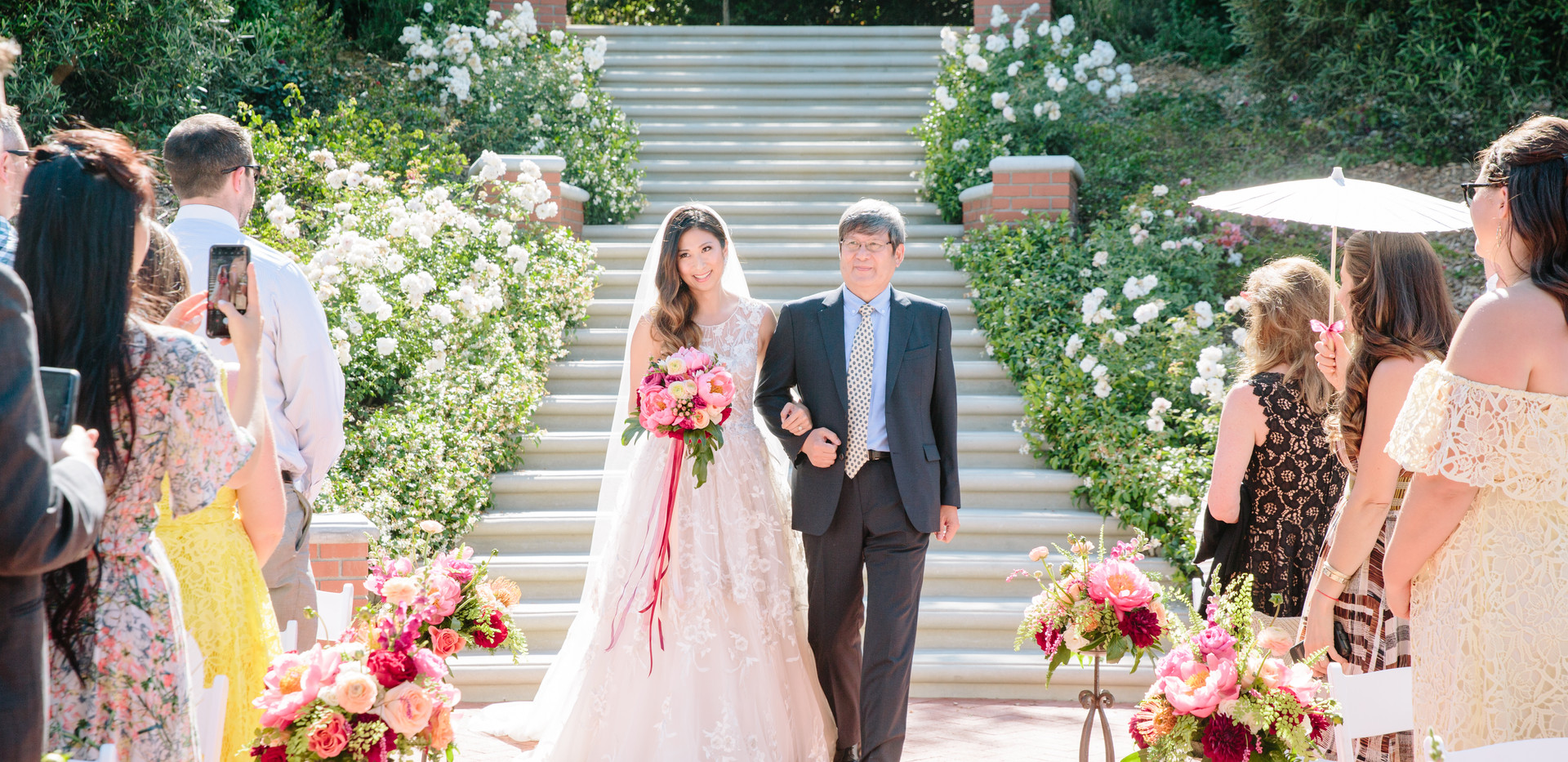 Rustic Quail Ranch Wedding Ceremony