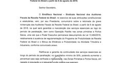 Ofício ao secretário da Receita Federal do Brasil 01/08/2018