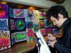 Air Brush T-shirt Artist NJ