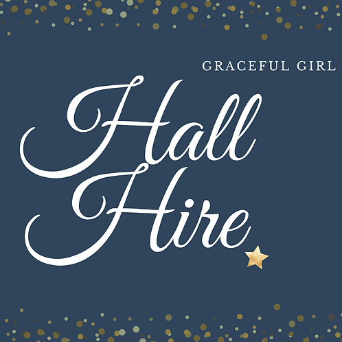Graceful Girl Hall Hire