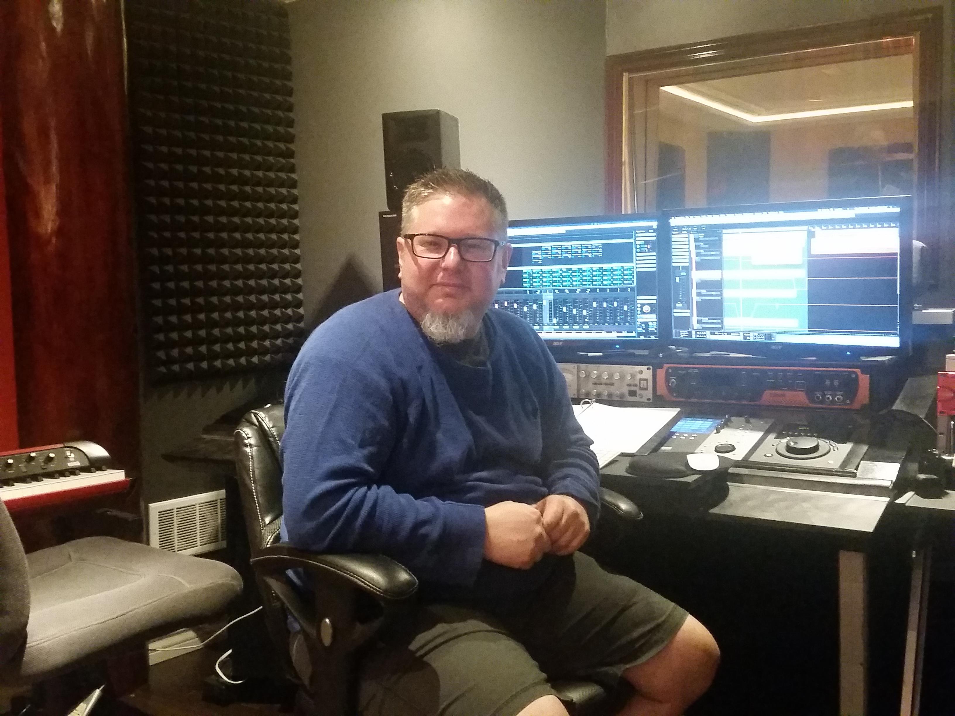 Our engineer/producer Matt