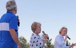 2. We love singing outdoors!