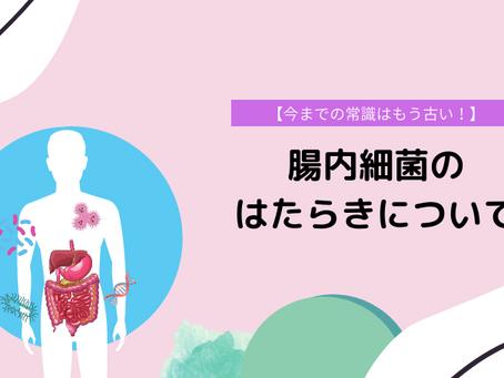 腸内細菌のはたらき