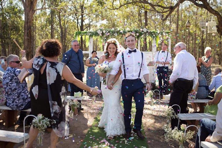 Wedding Ceremony in the Hunter Valley.