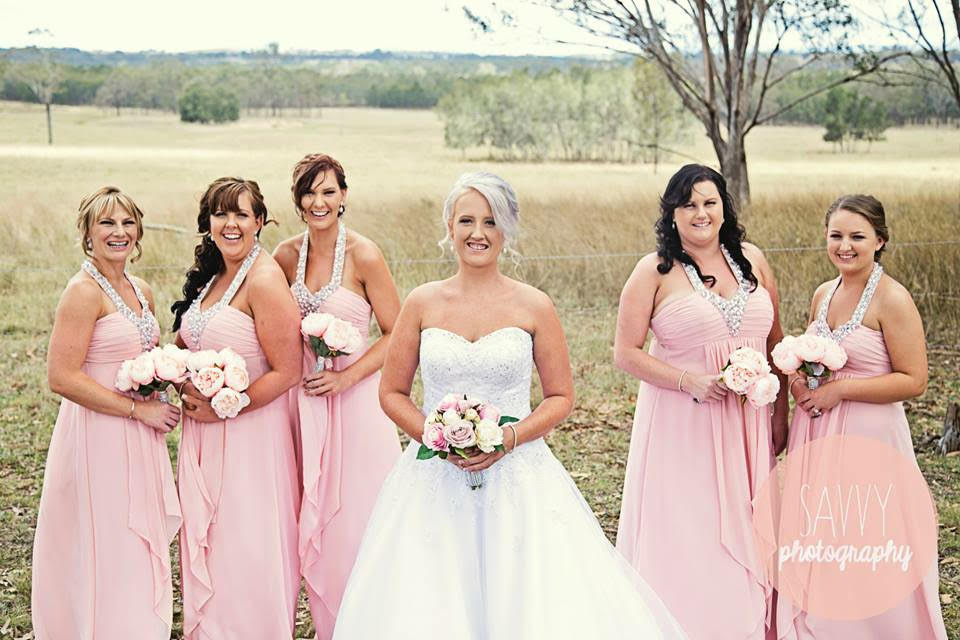 Bridesmaids at Kookaburra