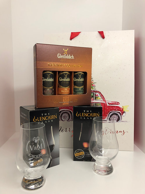 Glenfiddich Family Collection & Glasses
