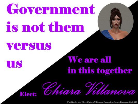 Chiara Villanova Campaign ad
