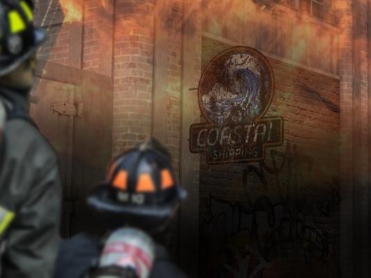 Fire Guts Santa Ramona Warehouse – Arson suspected.