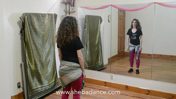 how to do belly dance dabke step