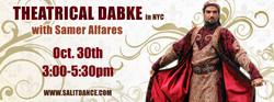 Theatrical Dabke facebook banner