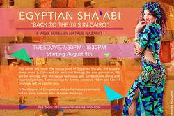 Shaabi workshop flyer