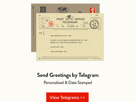 Send a Real Telegram for VE Day!