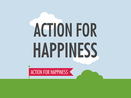 Action for Happiness - Have a Meaningful May!