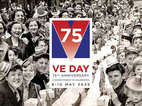 Celebrate VE days' 75th anniversary on the 8th of May!