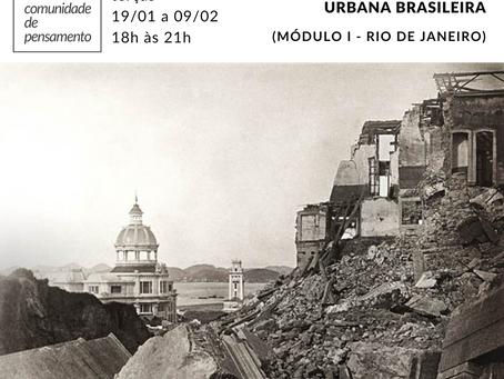 Democracia e samba na formação urbana brasileira (módulo 1 - Rio de Janeiro)