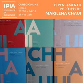 O pensamento político de Marilena Chaui