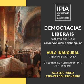 Democracias liberais: realismo político e conservadorismo antipopular