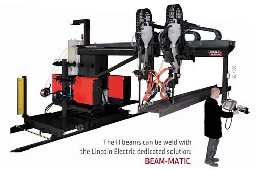 BEAM-MATIC SAW MACHINE - Lincoln Electric