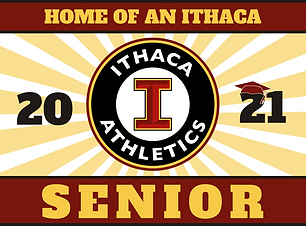 Ithaca Athletics Lawn Sign.png