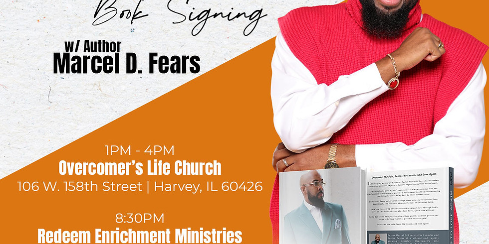 7 Principles to Love Again Book Signing