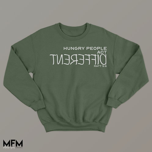 Hungry People Crew Neck Sweater