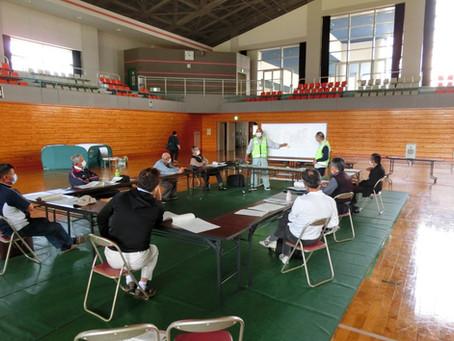 令和3年 避難所開設・運営訓練を実施しました