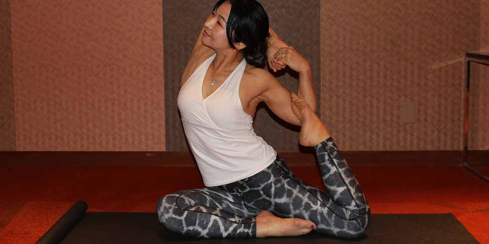 Morning Yoga - physical, mental, and emotional relaxation.