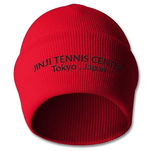 JINJI TENNIS CENTER BEANIE ( EMBROIDERY )