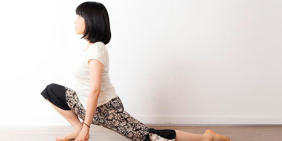 Yin Yoga Adheres with Akiko Sensei