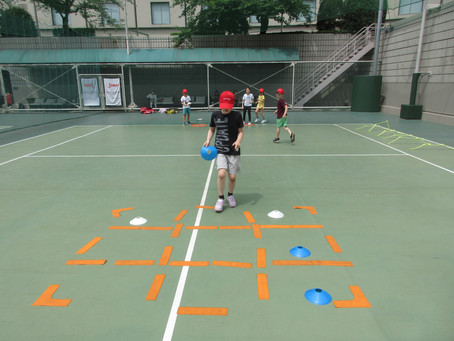 Fun drills for summer tennis camp