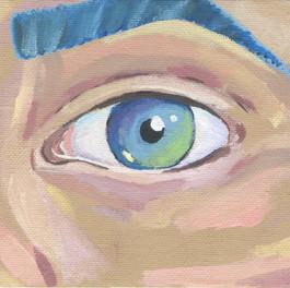 Untitled (Eyeball) 2015