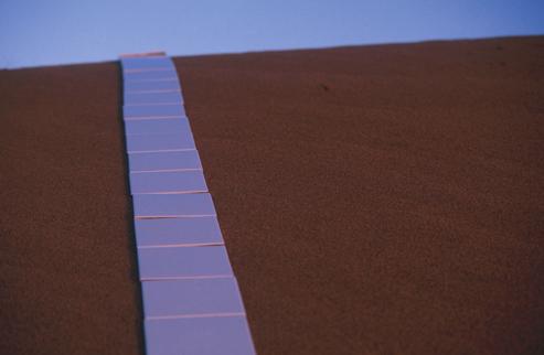 Tiles in Line