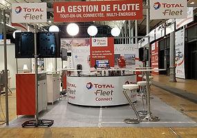stand TOTAL FLEET Salon Flotauto 2019