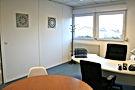 Bureau fermé pour réunion, embauche, formation, location à la journée, Lognes, Bussy, Bureau partagé