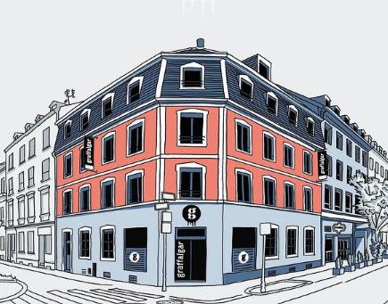 Le graffalgar et son deuxième étage