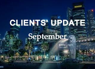 Genesis Clients' Update - September