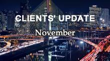 Genesis Clients' Update - November