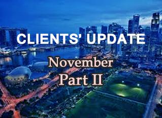Genesis Asset Clients' Update - November Part II