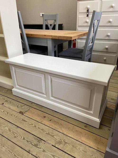 4ft Solid Pine Blanket Box